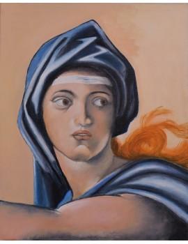 Copie de Sybille de Delphes (33 x 41 cm)