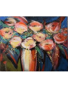 Bouquet Baroque (60 x 50 cm)