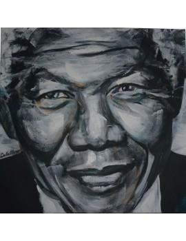 Mandela (100 x 100 cm)