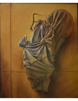 """Peinture à l'huile ------- 80 x 100 cm. 'Haute Couture"""""""