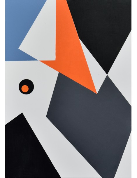 """Peinture Acrylique ----------------- 50 x 70 cm. """"Éclats""""."""