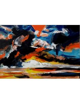 Orage (73 x 50 cm)